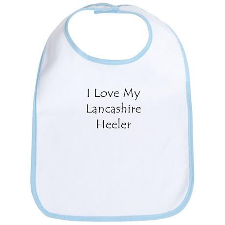 I Love My Lancashire Heeler Bib
