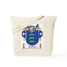Cotter Family Crest Tote Bag