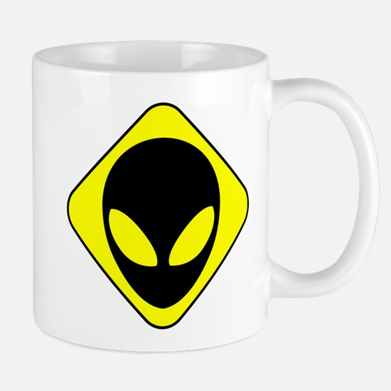 Alien Face Mug