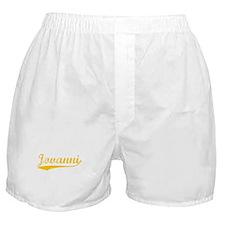 Vintage Jovanni (Orange) Boxer Shorts