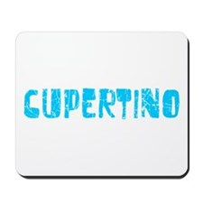 Cupertino Faded (Blue) Mousepad