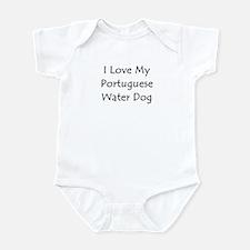 I Love My Portuguese Water Do Infant Bodysuit