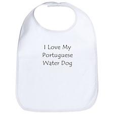 I Love My Portuguese Water Do Bib