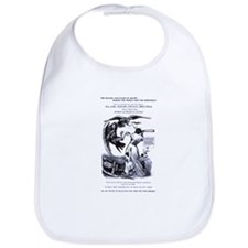 Abolitionist/Feminist cartoon Bib