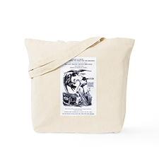 Abolitionist/Feminist cartoon Tote Bag