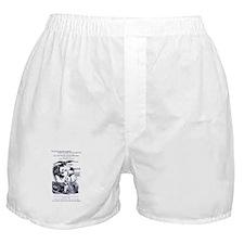 Abolitionist/Feminist cartoon Boxer Shorts