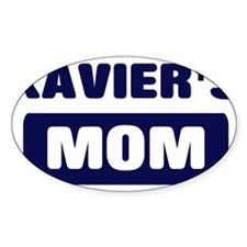 XAVIER Mom Oval Decal