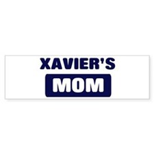XAVIER Mom Bumper Bumper Sticker