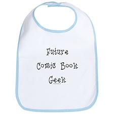 Future comic book geek baby Bib