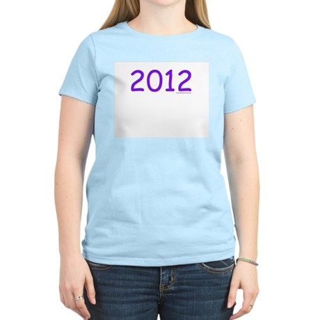 2012 Purple - Women's Pink T-Shirt