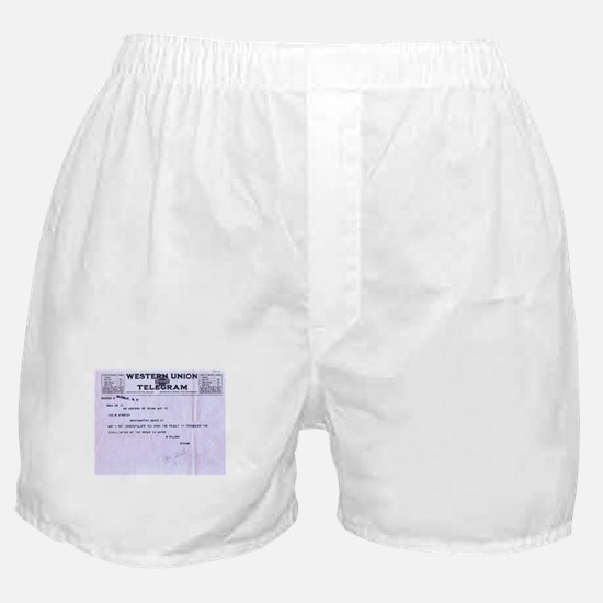 The Tennessee Telegram Boxer Shorts