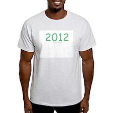 2012 Green - Ash Grey T-Shirt