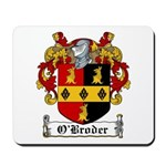 O'Broder Family Crest Mousepad