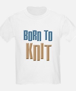 Born to Knit Crafts T-Shirt