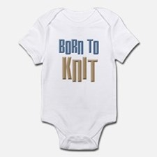 Born to Knit Crafts Infant Bodysuit