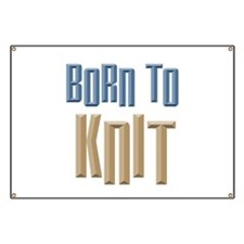 Born to Knit Crafts Banner