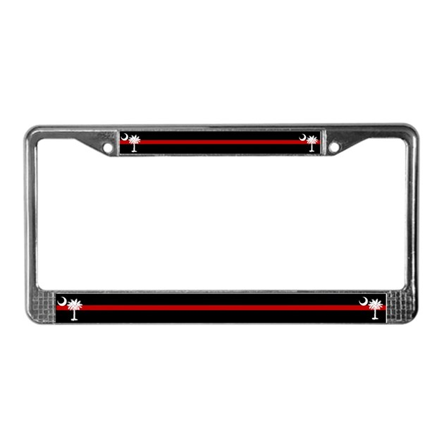 SC Fire Rescue License Plate Frame By Scgear