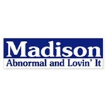 Madison Abnormal bumper sticker