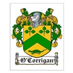 O'Corrigan Family Crest Small Poster