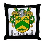 O'Corrigan Family Crest Throw Pillow