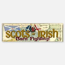Scots-Irish Bumper Car Car Sticker