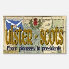 Ulster Scots (scotch-irish) Rectangle Decal
