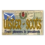 Ulster Scots (scotch-irish) Rectangle Sticker