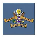Scots Irish Pioneers to Presidents Tile Coaster