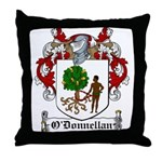 O'Donnellan Family Crest Throw Pillow