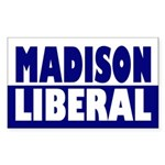 Madison Liberal bumper sticker