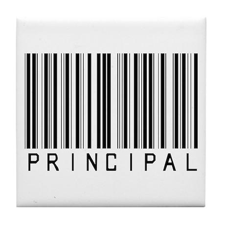 Principal Barcode Tile Coaster