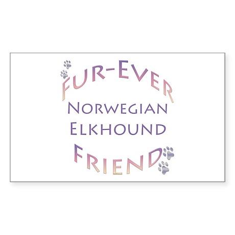 FureverTemp Rectangle Sticker