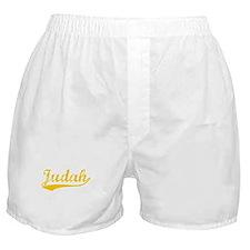 Vintage Judah (Orange) Boxer Shorts