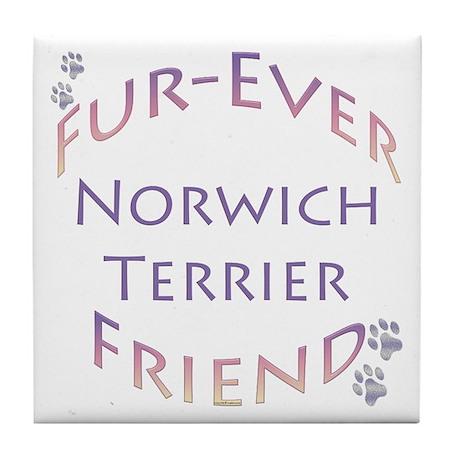 Norwich Furever Tile Coaster