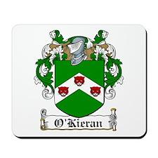 O'Kieran Family Crest Mousepad