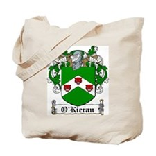 O'Kieran Family Crest Tote Bag