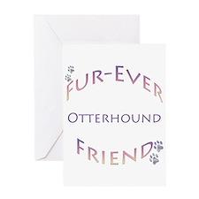 Otterhound Furever Greeting Card