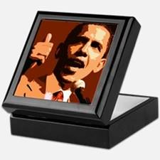 Two Thumbs Up Obama Keepsake Box