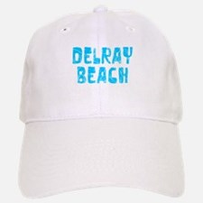 Delray Beach Faded (Blue) Baseball Baseball Cap