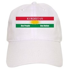 Kurdish Nation Design Baseball Cap