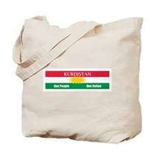 Kurdish Nation Design Tote Bag