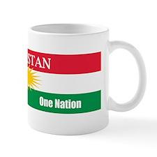 Kurdish Nation Design Mug