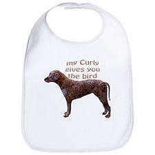 Curly Coat Bird Bib
