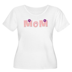 Flowered Mom T-Shirt
