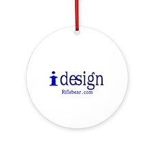 i design Ornament (Round)