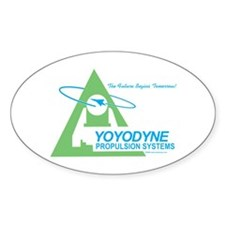 Yoyodyne Oval Decal