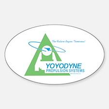 Yoyodyne Oval Decal