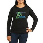 Yoyodyne Women's Long Sleeve Dark T-Shirt