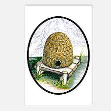 Cute Bee hive Postcards (Package of 8)