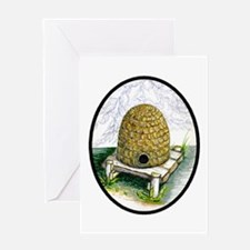 Unique Beehive Greeting Card